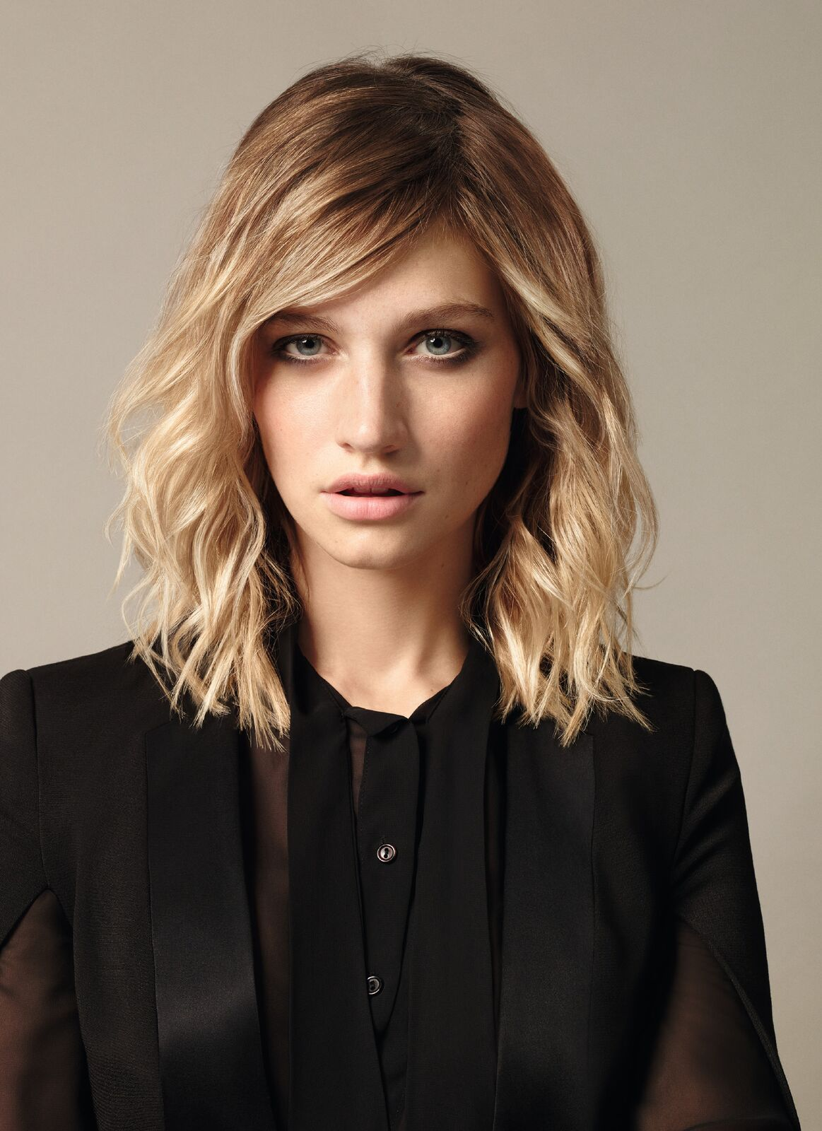 A beautiful example of a short hair style